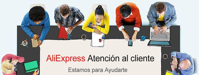 atencion cliente aliexpress